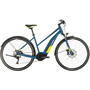 Cube Nature Hybrid EXC 500 Allroad Trapez blue'n'lime