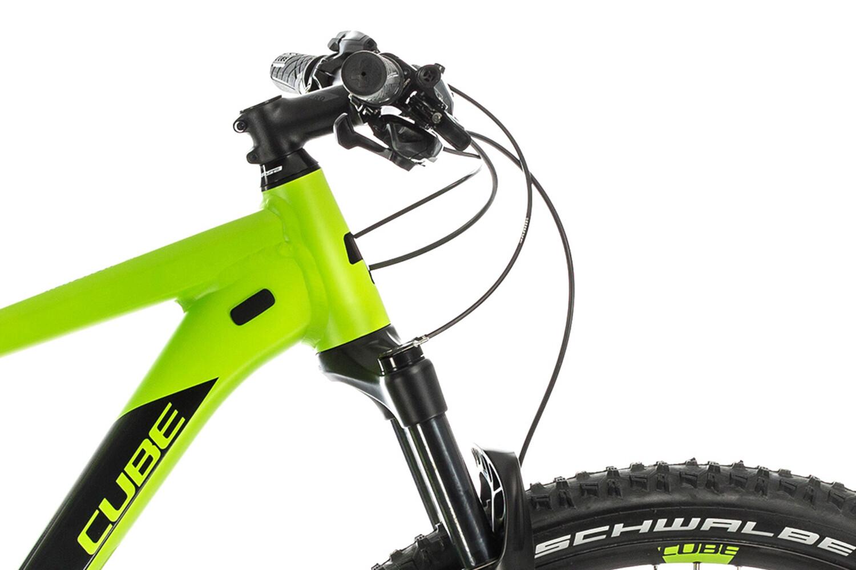L bicicleta pantalones mountainbike-short Ghost MTN Ride line shorts Black//Riot red