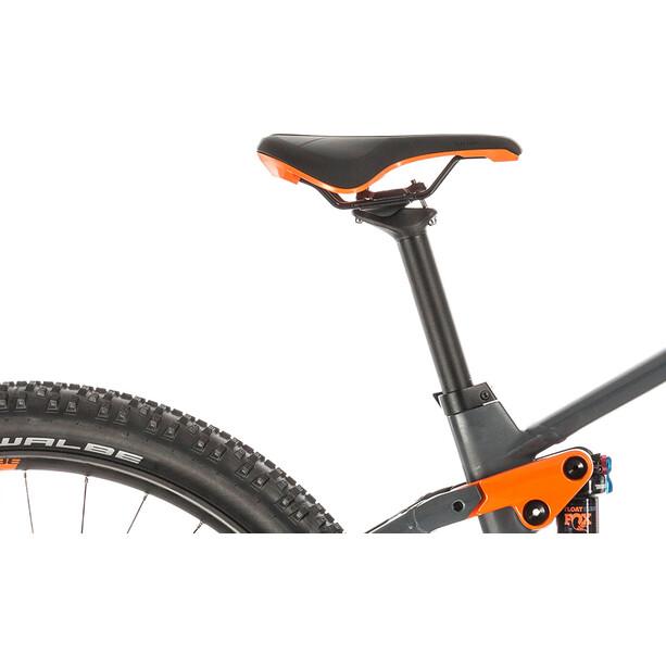 Cube Stereo Hybrid 120 Race 625 grey'n'orange