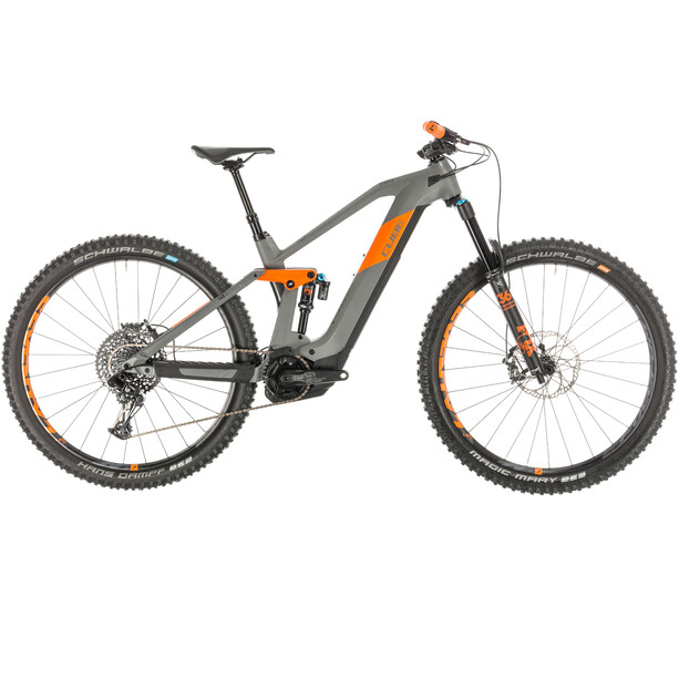 Cube Stereo Hybrid 140 HPC TM 625 grey'n'orange