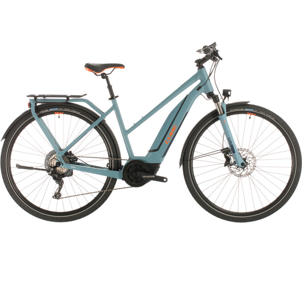 Cube Touring Hybrid EXC 500 Trapez blue'n'orange
