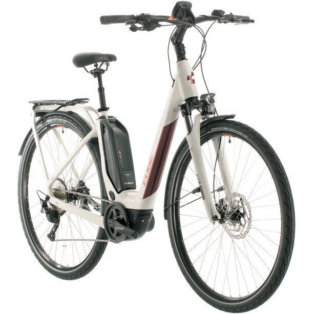 Cube Touring Hybrid Pro 500 Easy Entry grey'n'red