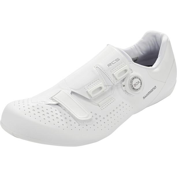 Shimano SH-RC5 Bike Shoes, blanc
