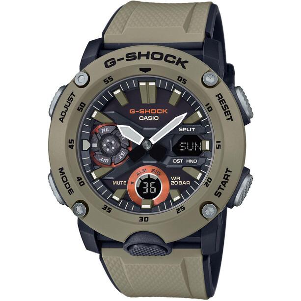 CASIO G-SHOCK Classic GA-2000-5AER Uhr Herren green/black