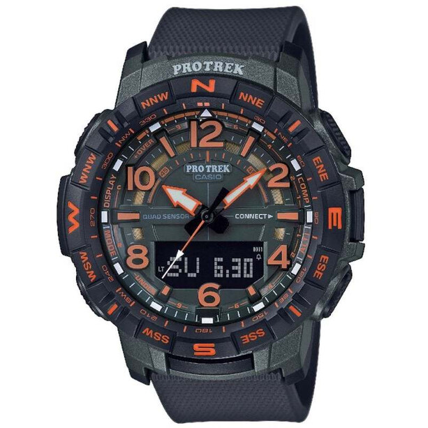 CASIO PRO TREK PRT-B50FE-3ER Uhr Herren black/orange