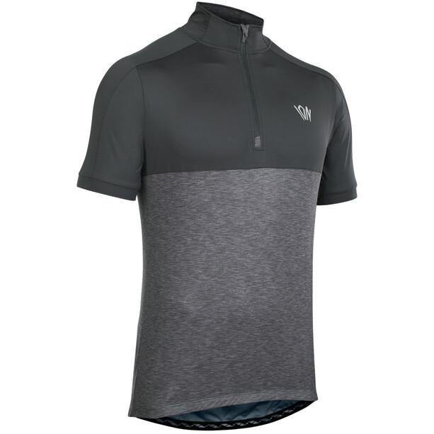 ION Paze Half-Zip Kurzarm-Shirt Herren black