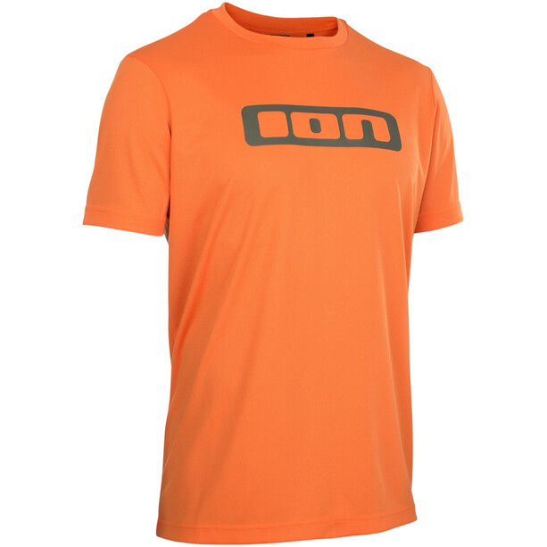 ION Scrub Maillot à manches courtes, riot orange