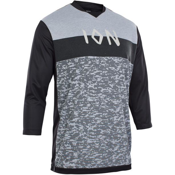 ION Scrub AMP 3/4 Shirt Herren black