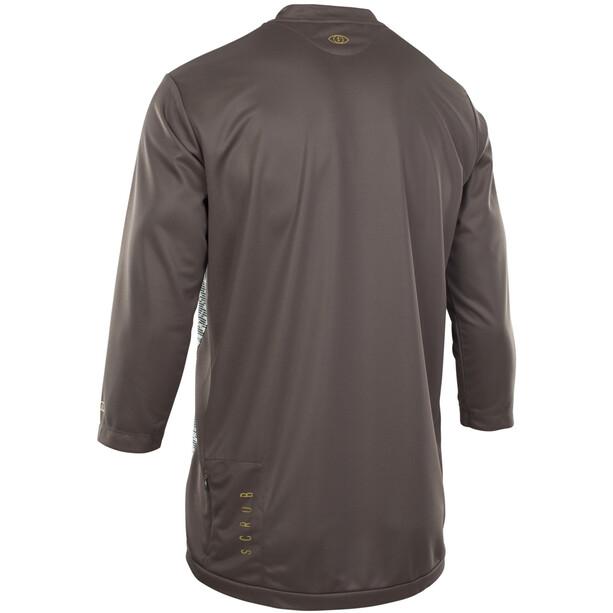 ION Scrub AMP 3/4 Shirt Herren root brown