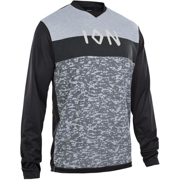 ION Scrub AMP Langarm-Shirt Herren black