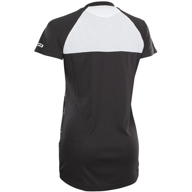 ION Scrub AMP Distortion Kurzarm-Shirt Damen black