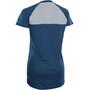 ION Scrub AMP Distortion Kurzarm-Shirt Damen ocean blue