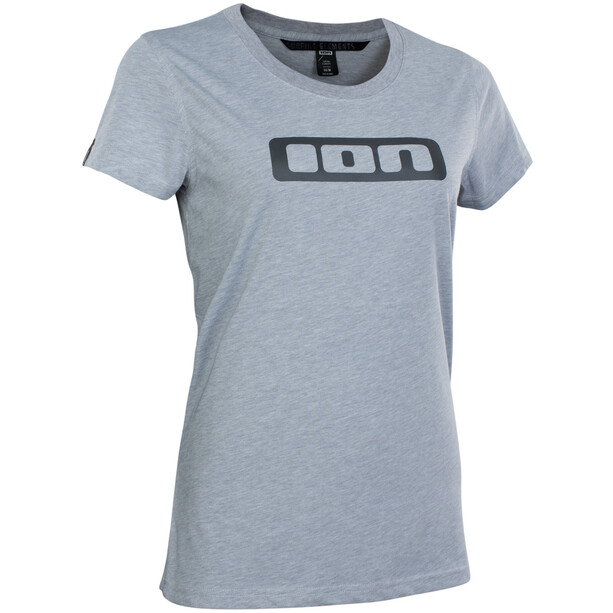 ION Seek DriRelease Kurzarm-Shirt Damen grey melange