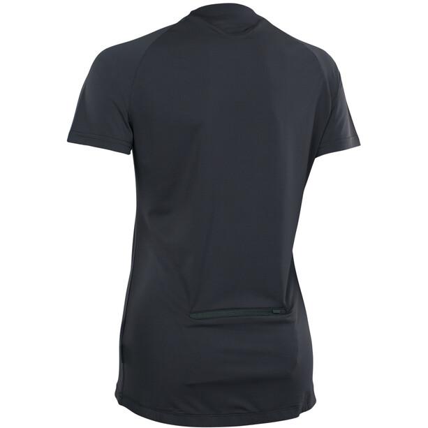 ION Traze Button Kurzarm-Shirt Damen black