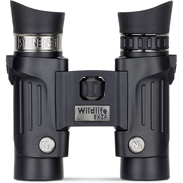 Steiner Wildlife Fernglas 8x24 black
