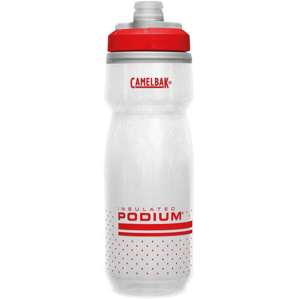 CamelBak Podium Chill Flasche 620ml fiery red/white