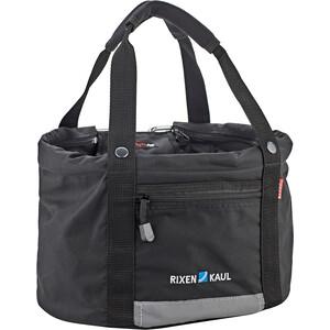 KlickFix Shopper Comfort Bike Bag Laukku Mini, musta musta