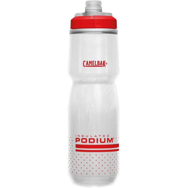 CamelBak Podium Chill Flasche 710ml fiery red/white