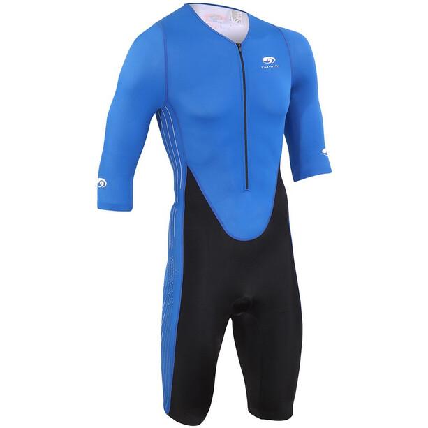 blueseventy TX2000 Kurzarm-Triathlonanzug Herren blue/black