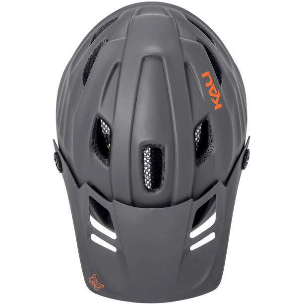 Kali Maya 2.0 Helm matt grey/orange