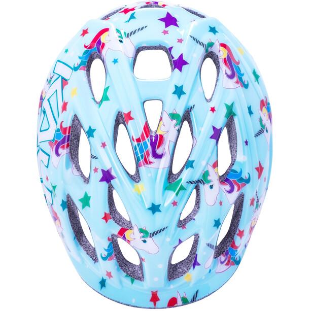 Kali Chakra Unicorn Helm Kinder blau