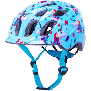 Kali Chakra Unicorn Helm Kinder blue blue