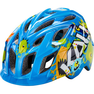 Kali Chakra Monsters Casque Enfant, blue blue