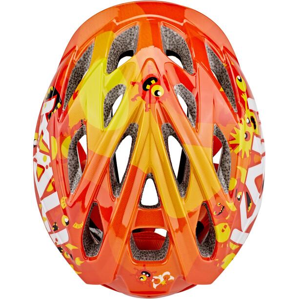 Kali Chakra Monsters Casque Enfant, orange
