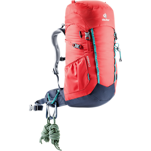 Deuter Climber Selkäreppu 22L Lapset, chili/navy