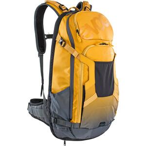 EVOC FR Trail E-Ride Sac à dos protecteur 20l, jaune/gris jaune/gris