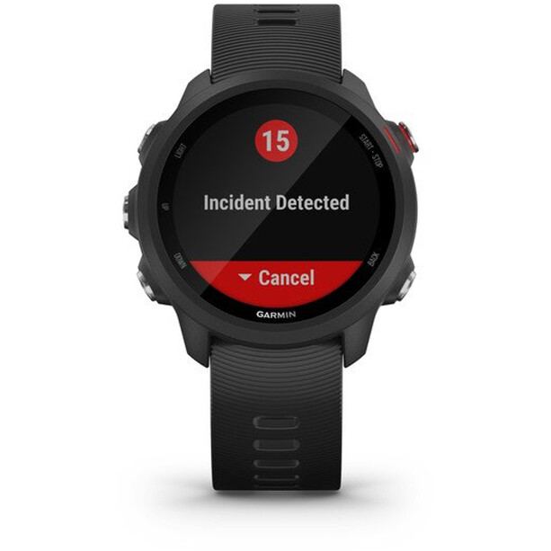 Garmin Forerunner 245 Music GPS Smartwatch Black/Red