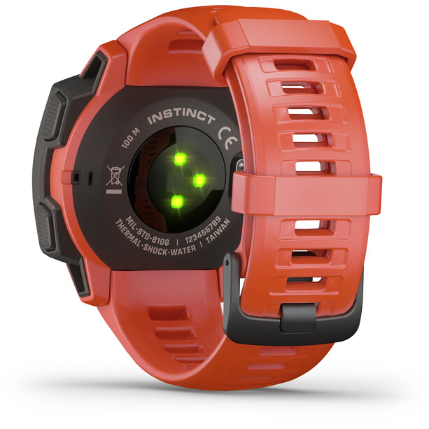 Garmin Instinct GPS Smartwatch flame red