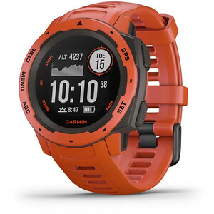 Garmin Instinct GPS Smartwatch flame red flame red