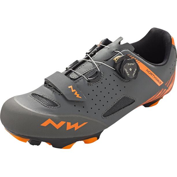 Northwave Origin Plus Schuhe Herren anthracite/orange