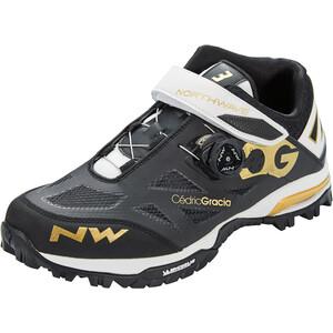 Northwave Enduro Mid Schuhe Herren schwarz/weiß schwarz/weiß
