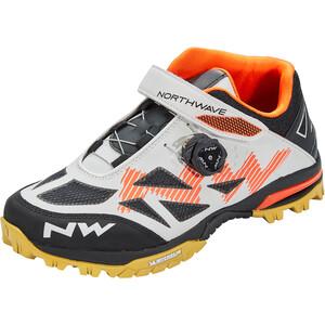 Northwave Enduro Mid Schuhe Herren weiß/orange weiß/orange