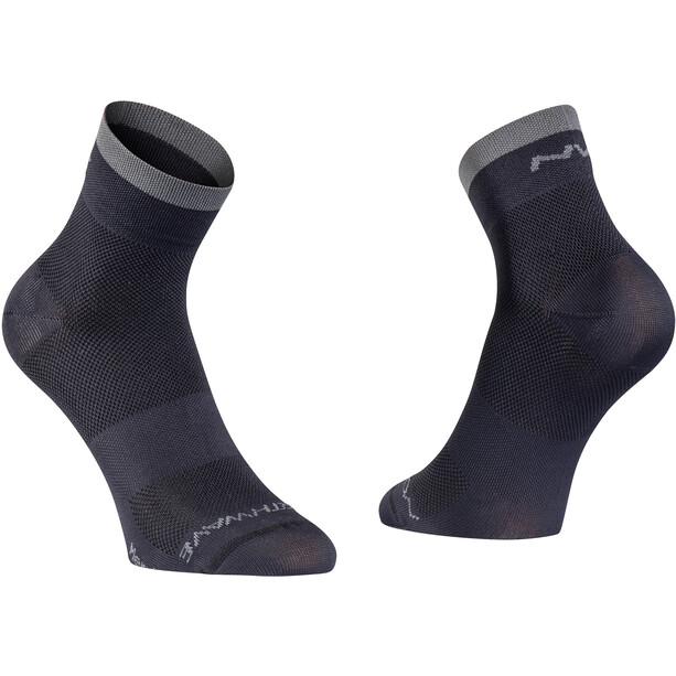 Northwave Origin Hohe Socken Herren black/dark grey