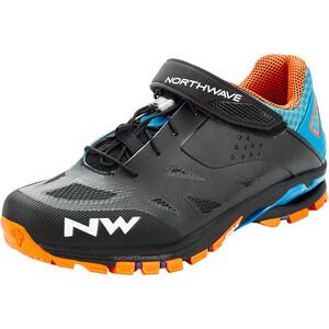 Northwave Spider 2 Schuhe Herren schwarz/blau schwarz/blau