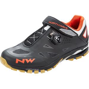 Northwave Spider Plus 2 Schuhe Herren black/off white/orange black/off white/orange