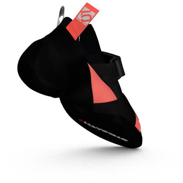 adidas Five Ten Crawe Climbing Shoes Dam core black/footwear white/signal coral