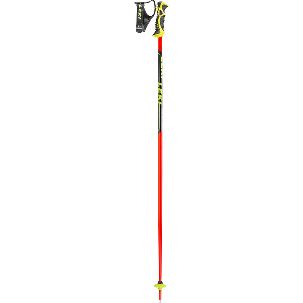 LEKI Worldcup SL TBS Skistöcke neon red/black/white/yellow