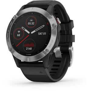 Garmin Fenix 6 Smartwatch schwarz/silber schwarz/silber