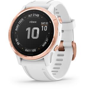 Garmin Fenix 6S Pro Smartwatch weiß/pink weiß/pink