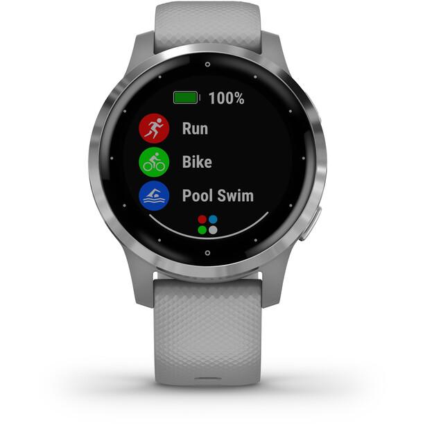 Garmin Vivoactive 4S Smartwatch grey/silver