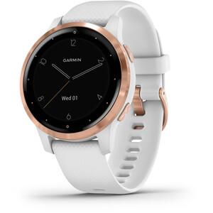 Garmin Vivoactive 4S Reloj Inteligente, blanco/rosa blanco/rosa