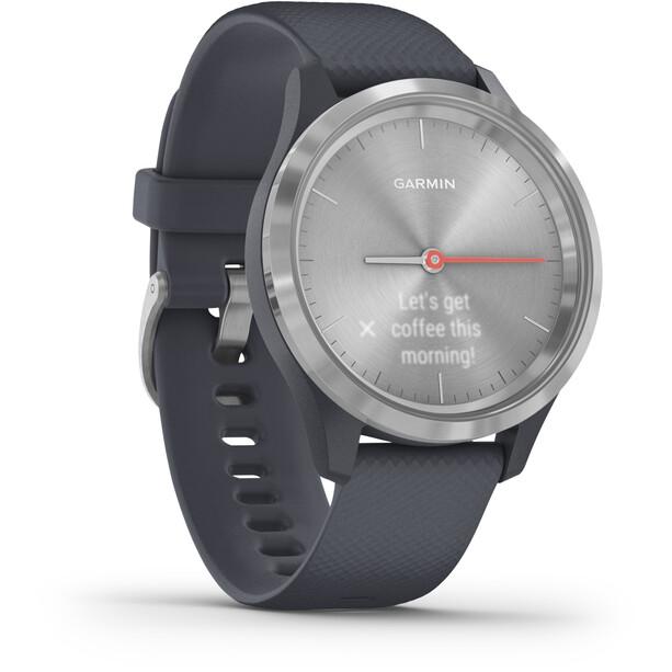 Garmin Vivomove 3S Smartwatch granite blue/silver