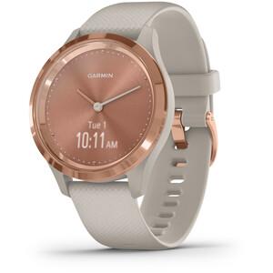 Garmin Vivomove 3S Reloj Inteligente, blanco/rosa blanco/rosa