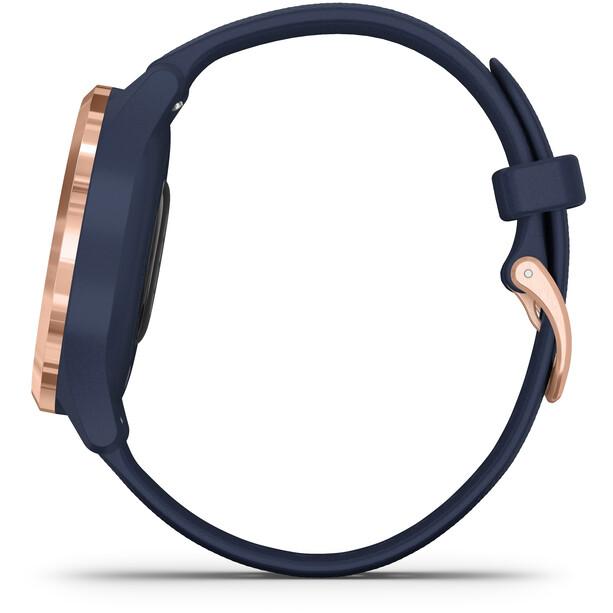 Garmin Vivomove 3S Smartwatch blau/rot