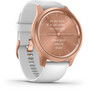 Garmin Vivomove Style Smartwatch rose gold/white