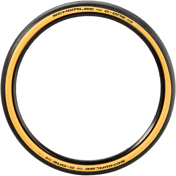 "SCHWALBE G-One Speed Folding Tire 27.5x2"" Raceguard TLE E-25 Addix classic"